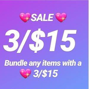 💖 3 for $15.00 Sale 💖